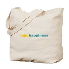 mpg happiness Tote Bag