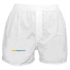 mpg happiness Boxer Shorts