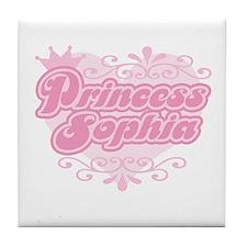 """Princess Sophia"" Tile Coaster"