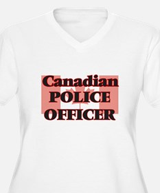 Canadian Police Officer Plus Size T-Shirt