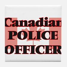 Canadian Police Officer Tile Coaster