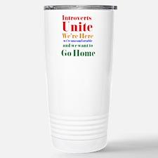 Introverts Travel Mug