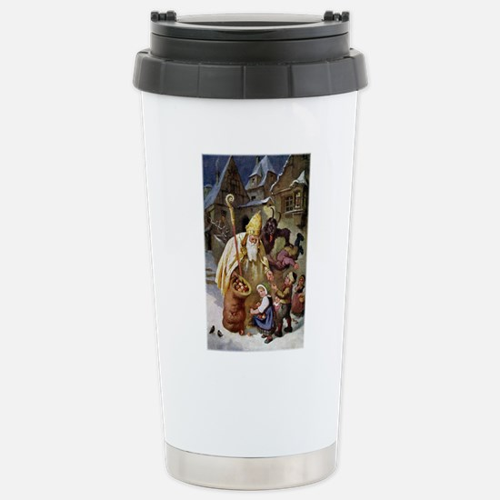 Krampus 005 Stainless Steel Travel Mug