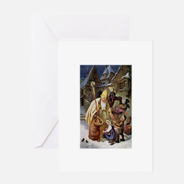 Krampus 005 Greeting Card