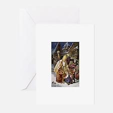 Krampus 005 Greeting Cards (Pk of 20)