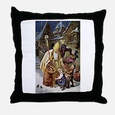 Krampus 005 Throw Pillow