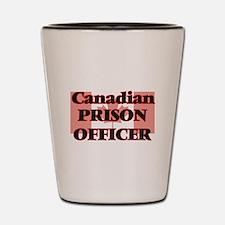 Canadian Prison Officer Shot Glass