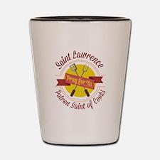Saint Lawrence Shot Glass