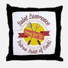 Saint Lawrence Throw Pillow