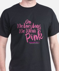 Mean Girls - Wednesdays Wear Pink T-Shirt