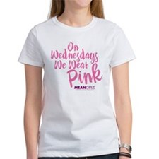 Mean Girls - Wednesdays Wear Pink Tee