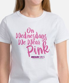 Mean Girls - Wednesdays Wear Pink Women's T-Shirt