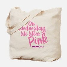 Mean Girls - Wednesdays Wear Pink Tote Bag
