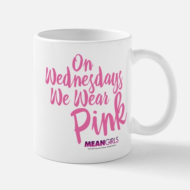 Mean Girls - Wednesdays Wear Pink Mug
