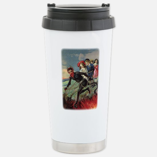 Krampus 009 Stainless Steel Travel Mug