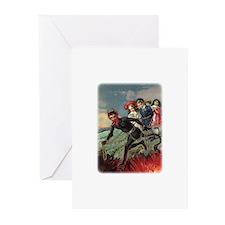 Krampus 009 Greeting Cards (Pk of 20)
