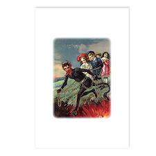 Krampus 009 Postcards (Package of 8)
