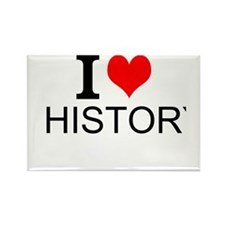 I Love History Magnets