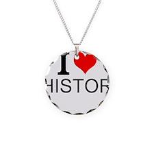 I Love History Necklace