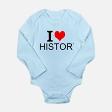 I Love History Body Suit