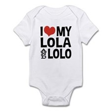 I Love My Lola and Lolo Infant Bodysuit