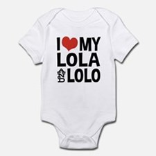 I Love My Lola and Lolo Onesie