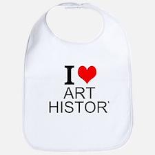 I Love Art History Bib