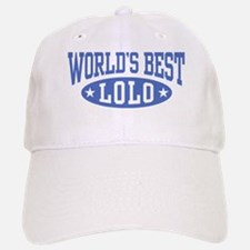 World's Best Lolo Baseball Baseball Cap