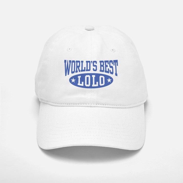 World's Best Lolo Baseball Baseball Cap