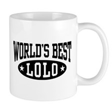 World's Best Lolo Mug