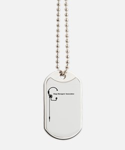 SMA Side Logo Dog Tags