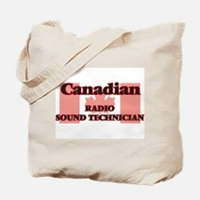 Canadian Radio Sound Technician Tote Bag