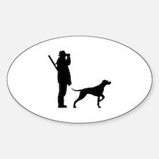 Hunter dog Decal