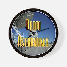 Radio Astronomy Wall Clock