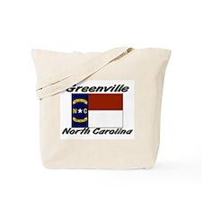 Greenville North Carolina Tote Bag