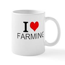 I Love Farming Mugs