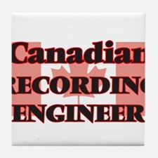 Canadian Recording Engineer Tile Coaster