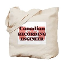 Canadian Recording Engineer Tote Bag