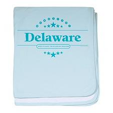 Delaware baby blanket