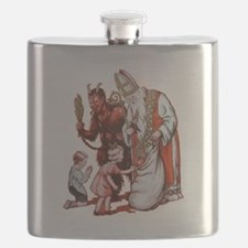 Krampus 006 Flask