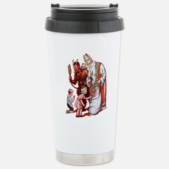 Krampus 006 Stainless Steel Travel Mug