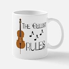 Cello Music Cellist Rules Mugs