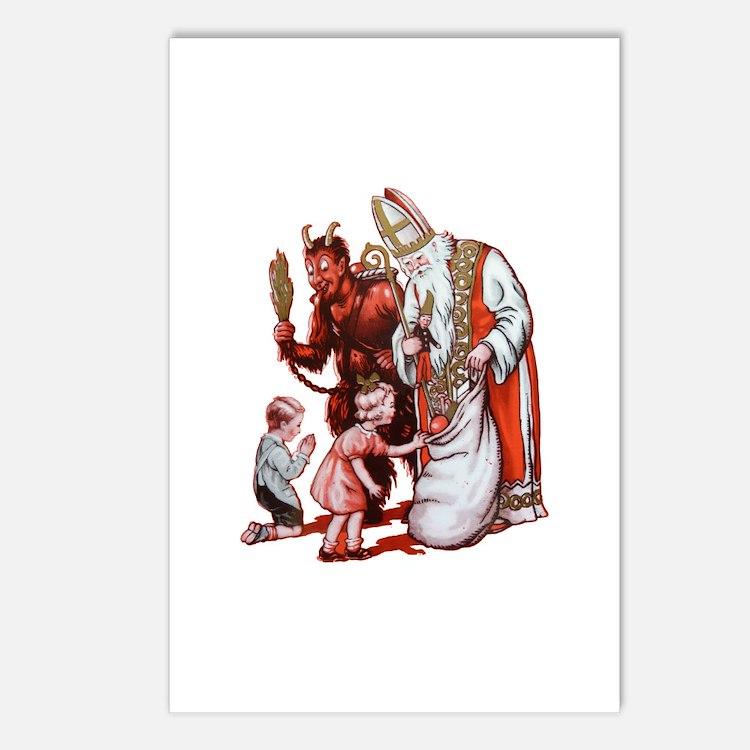 Krampus 006 Postcards (Package of 8)