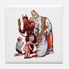 Krampus 006 Tile Coaster