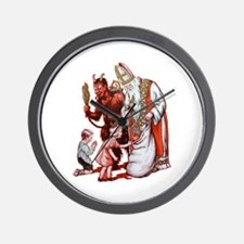 Krampus 006 Wall Clock