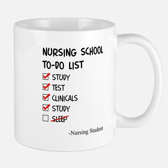 Cute Nursing school Mug