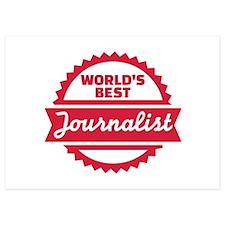 World's best Journalist Invitations