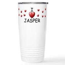 Cute I love jasper Travel Mug