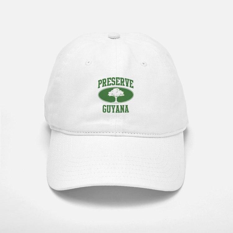 Preserve Guyana Baseball Baseball Cap