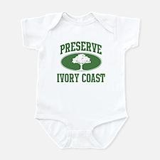 Preserve Ivory Coast Infant Bodysuit